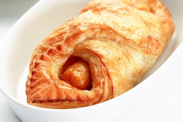ครัวซองไส้กรอก - เบเกอรี่อร่อยๆ จาก Puff & Pie ครัวการบินไทย