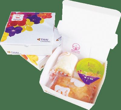 Puff & Pie โปรโมชั่น จัดส่งฟรี เมื่อสั่ง Snack Box 100 กล่องขึ้นไป (*เฉพาะเขตกรุงเทพชั้นใน)